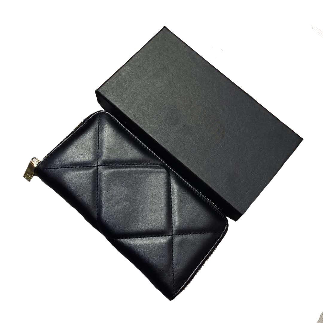 محفظة طويلة للنساء مصمم محفظة سستة حقيبة السيدات بطاقة حامل الجيب أعلى جودة حاملي عملة الإناث