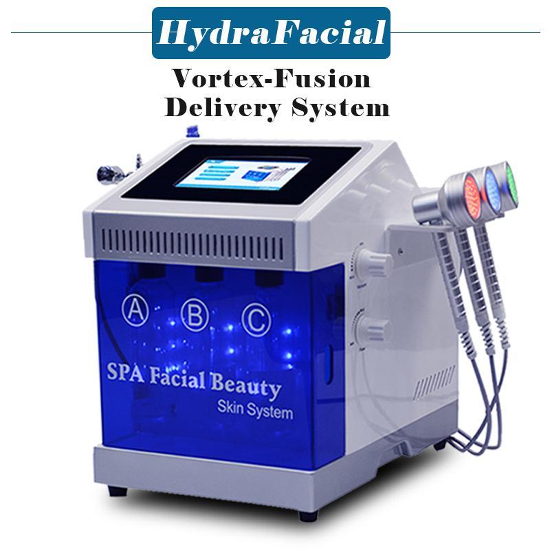 New 5 In 1 Bio Microcurrent Photon Scrubber Skin Rejuvenation Diamond Microdermabrasion Peeling Spa Beauty Machine