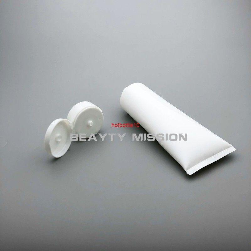 250 мл 30 шт. / Лот белая пустая пластиковая мягкая трубка косметическая упаковка 250CC лосьон крем для ухода за кожей