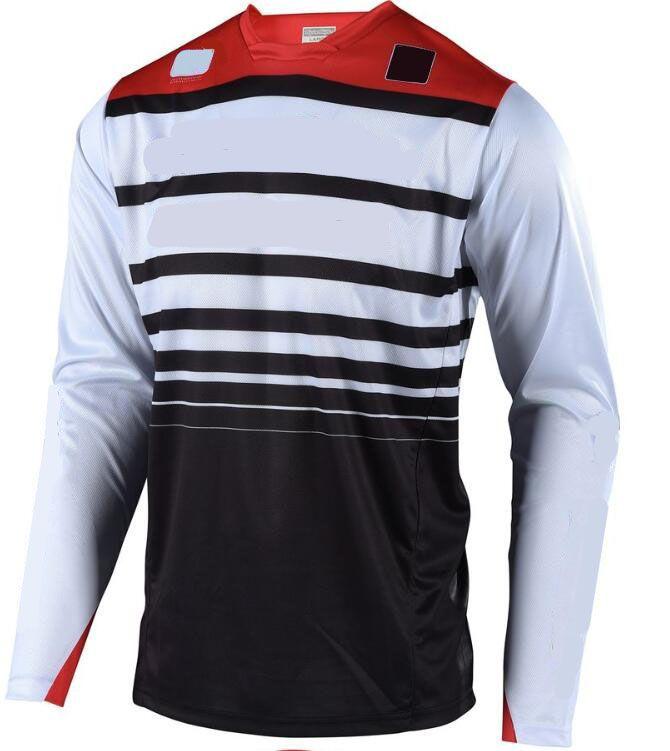 The New Speed Surrender Bike Jersey Camisa de manga corta Hombres Verano Mountain Bike Cross-Couth Motorcycle Ropa Camiseta