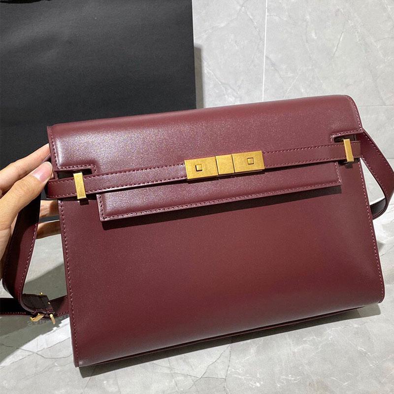 Designer di lusso di alta qualità in pelle femmina 2021 Nuovo Trendy Wild Cross-Body Manhattan Bag Pensulatore retrò tofu ascella
