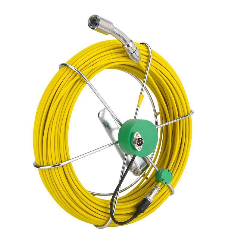 23мм трубы инспекции камеры системы головка с 6 светодиодов 20M Жесткий кабель для F 9200D Drain камеры