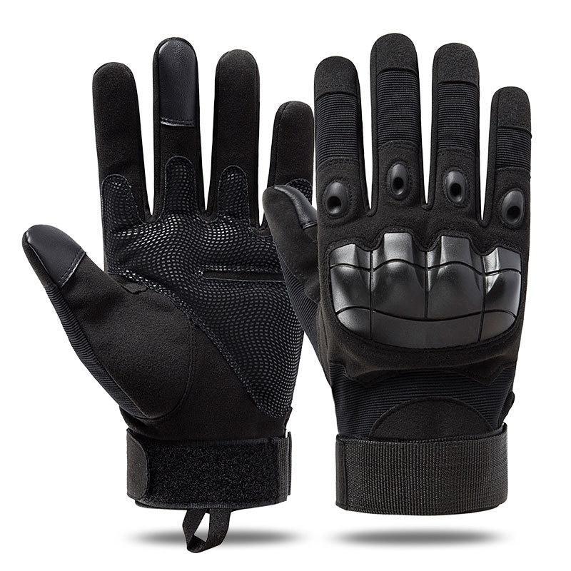 Paintball táctico de Airsoft Caza Disparos al aire libre equitación fitness Senderos completa dedo guantes Guantes de Caza