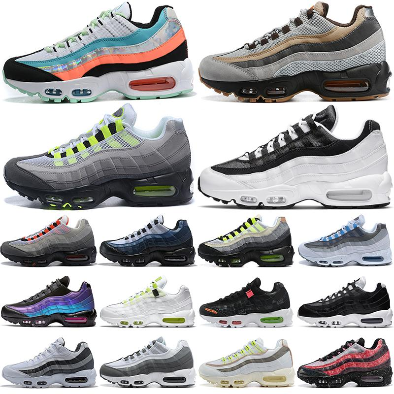 max 95 95s أحذية الجري الرجالية Chaussures Worldwide Yin Yang OG Neon Tennis أحذية رياضية رياضية في الهواء الطلق للرجال
