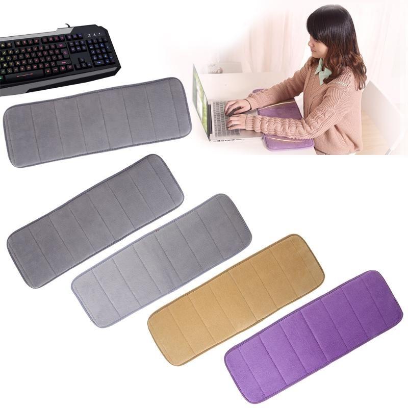 Ultra Cotton Memória Keyboard Pad Sweat-absorvente Anti-derrapante para Office Desktop