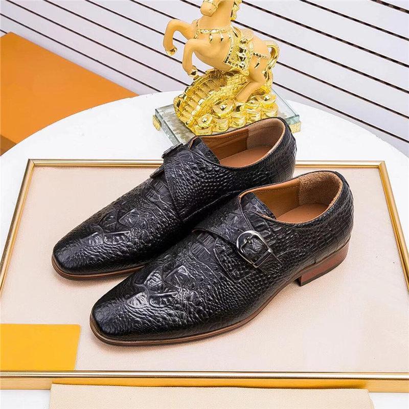 2020 novo design de luxo gradino cor wingtip sapatos formais designer homens apontados toe casual festa de casamento liesure vestido sapatos