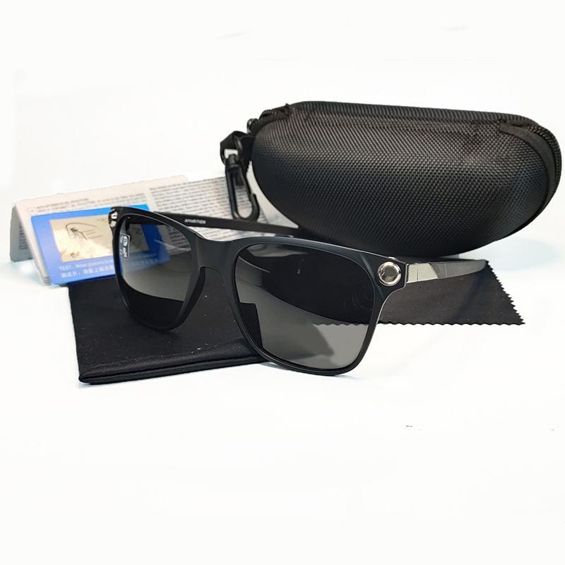 2020 Nova moda óculos de sol polarizados homens mulheres marca pesca sol vidro UV 400 moldura de metal óculos de sol 9451 esporte óculos mergulho gla