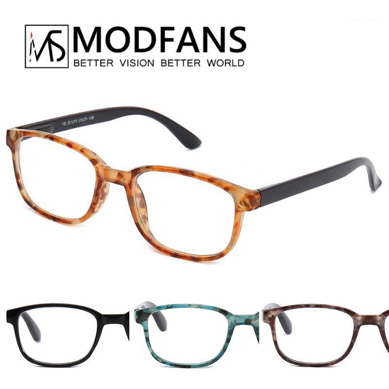 Reading Glasses Men Women Yellow Tortoise Frame Eyeglasses HD Clear Lens Vintage Rectangle Glass Presbyopic Diopter +1.5+1.0+2.1