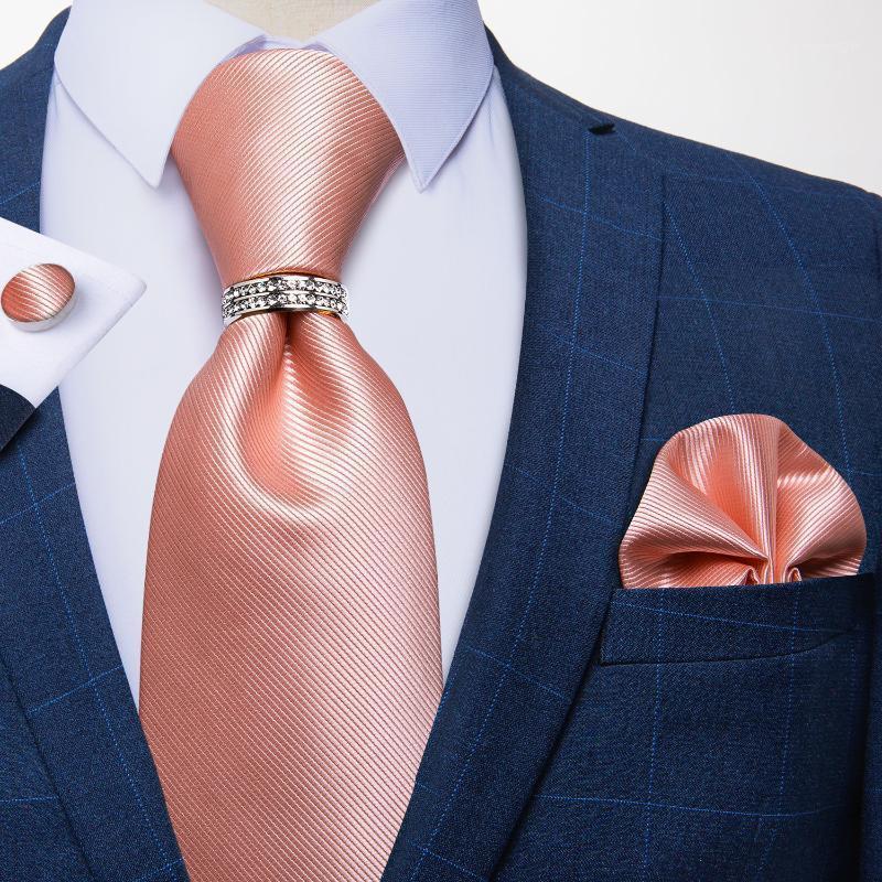 Бантики галстуки 8 см мужской шелковый галстук мода розовый солидный галстук качалка костюм деловая свадьба формальная футболка аксессуары Dibange1