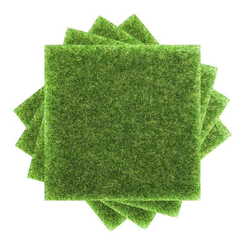محاكاة العشب الطحلب العشب كاذبة الطحلب الديكور في الهواء الطلق داخلي شرفة السجاد الأخضر حصيرة مايكرو المناظر الطبيعية 9079