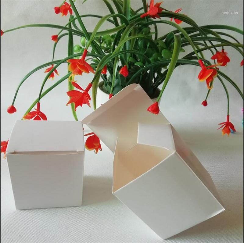 30 adet 5 Boyutları Zanaat Mevcut Ambalaj Kutusu Beyaz Kraft Hediye Kutusu Boş DIY Şeker Kutuları Butik Depolama Perakende Kutuları1