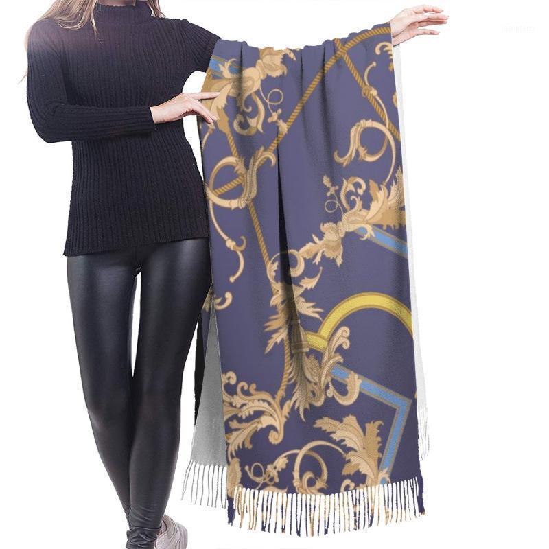 Sciarpe noisydesigns 2021 moda donna sciarpa inverno caldo scialle wrap modello europeo modello viola gradiente colore lungo nappa femmina coperta1