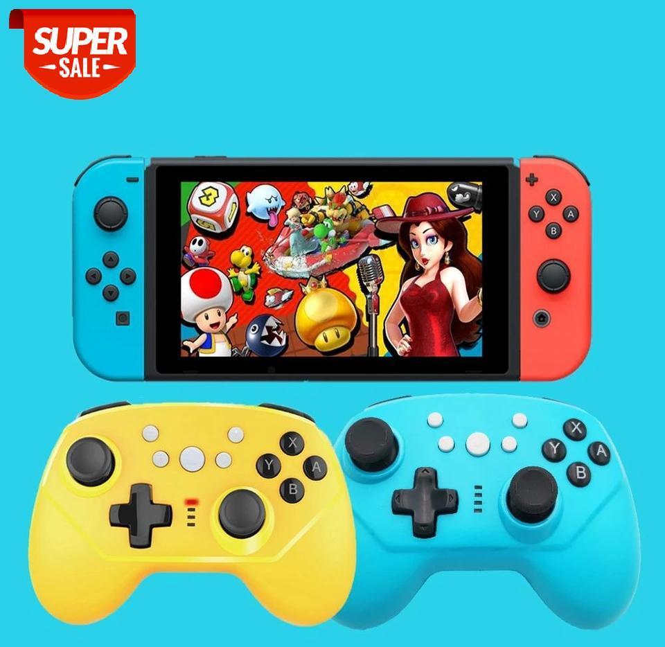 5 in 1 Kablosuz Bluetooth Oyun Denetleyicisi Nintendo Anahtarı Pro Kablosuz Joystick Oyun Pedi Nintendo Anahtarı Lite Konsolu için # CF8Z