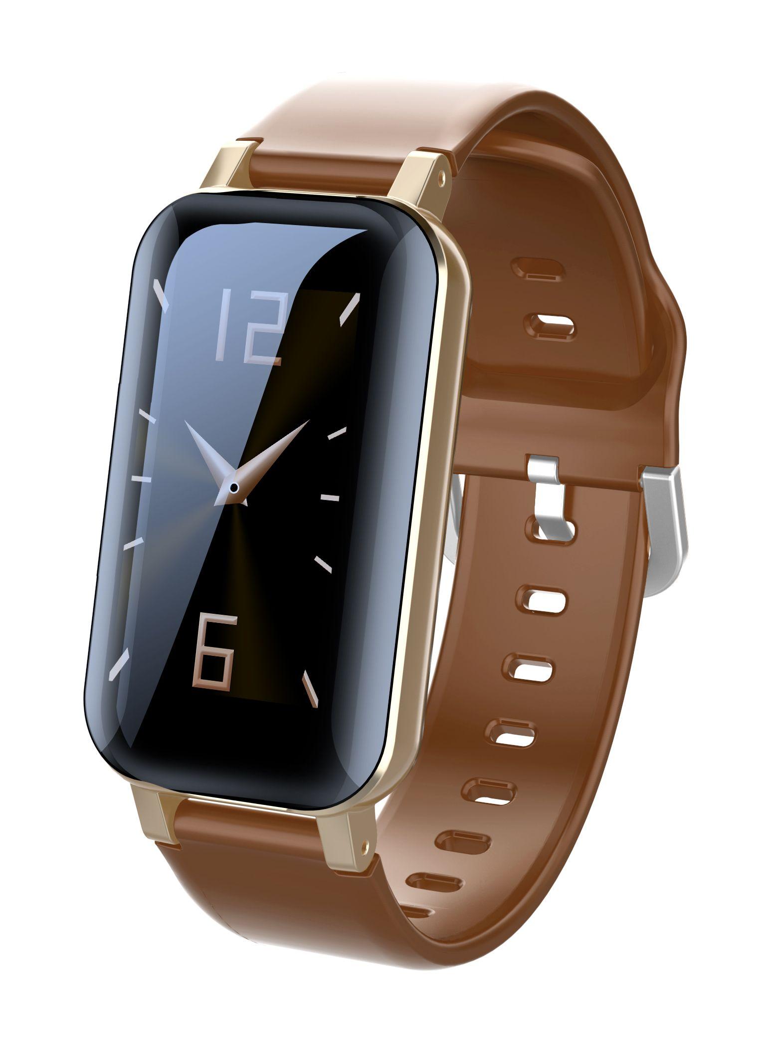 T89Pro Bluoral Bluetooth sans fil Bluetooth 5.0 Sports Smart Bracelets Smart Pression artérielle Message Rappel Bracelet Bracelet Bracelet avec oreillettes