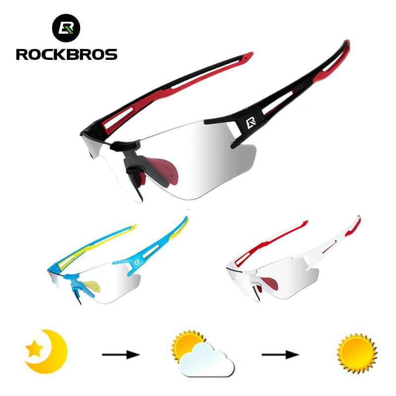 RockBros Велоспорт фотохромные очки UV400 на открытом воздухе спортивные солнцезащитные очки велосипедные мужские безрамоглавные очки очки технические очки Q0119