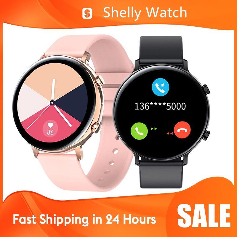 ECG Smart Watch Bluetooth Chiamata telefonata Bluetooth 2020 Nuovi uomini Donne Impermeabile Smartwatch Smartwatch Monitor per Android Apple Samsung