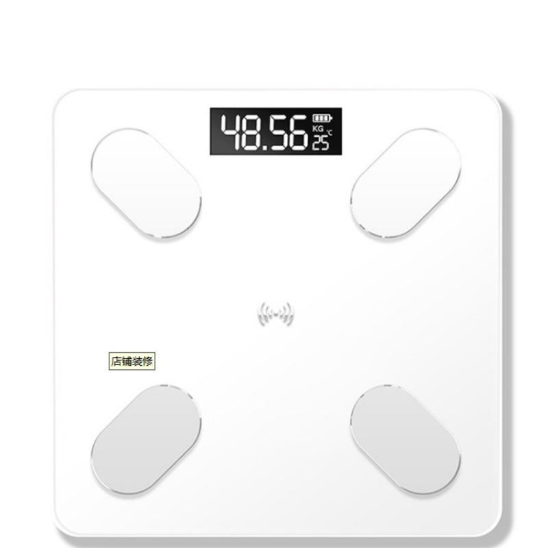 NOVO Escala eletrônica do corpo humano Escala de Saúde Peso Balanças domésticas Banho Pesando carregamento USB LED Digital Display