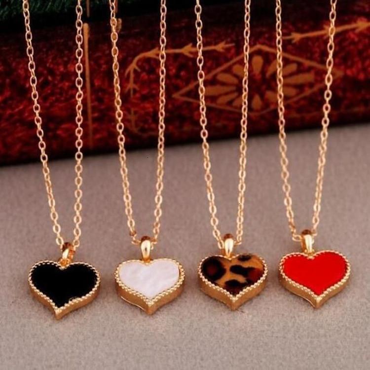 Женщины Длинные для маленьких 2121 Цепочка Новый Сердце Форма Подвеска Сердце Подарок Этнические Богемные колье Ожерелье Y6JZ