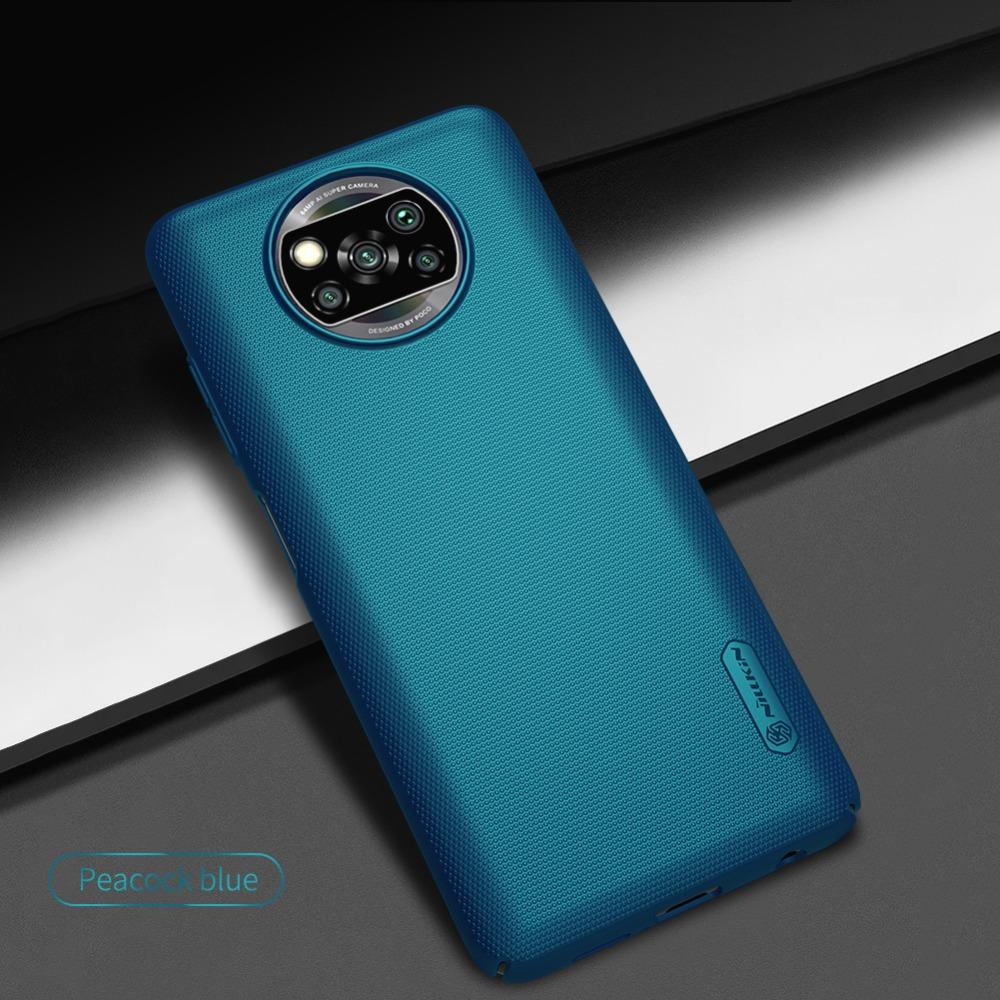 Matte Capa Para Xiaomi Poco X3 NFC Nillkin fosco protetor rígido Capa para Xiaomi Mi T9 redmi K20 Pro Poco F2 Pro