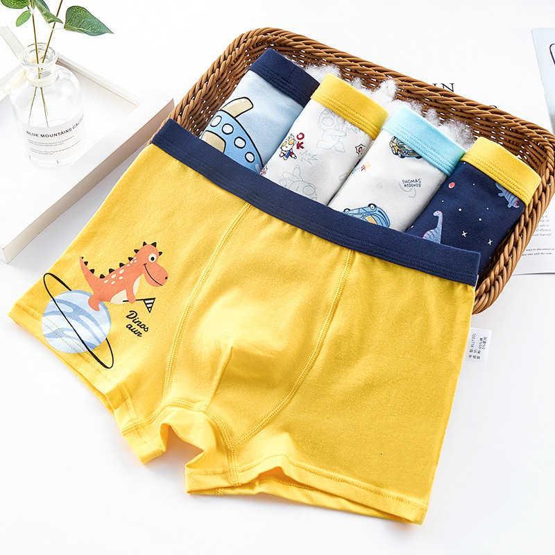 Underwear algodão Baby Boys 'Middle e Big Childs Boxers 12 shorts 15 anos de idade