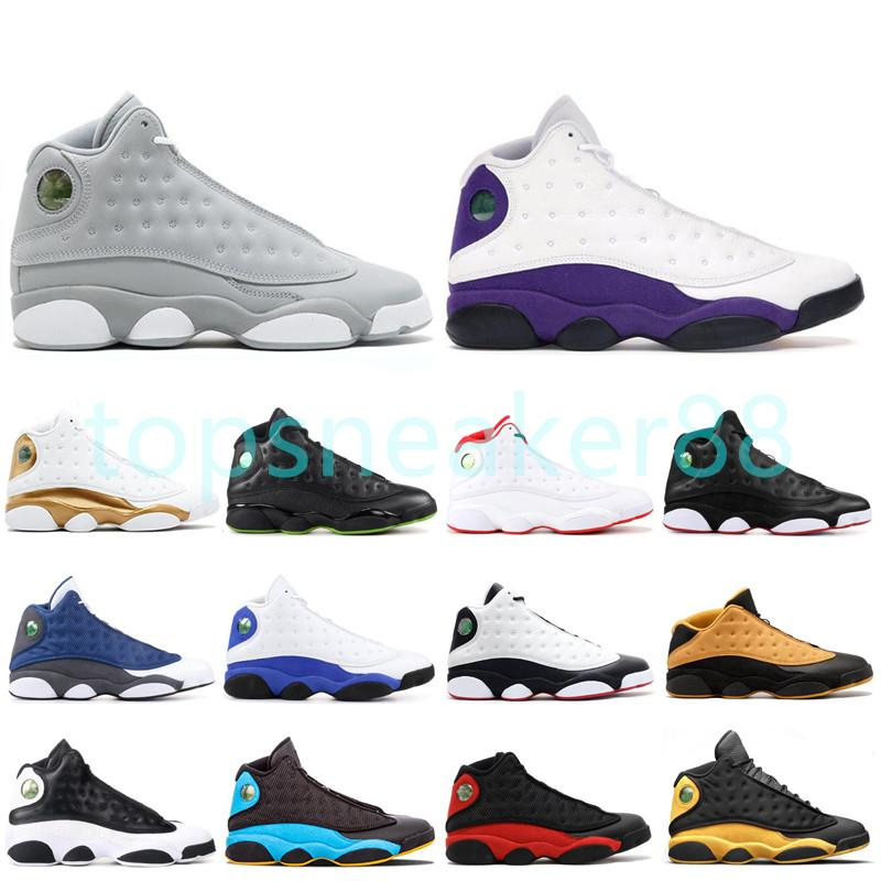 Yüksek Kalite Popüler Moda Nefes Yüksek Üst Erkekler Basketbol Ayakkabıları Mor Beyaz Erkek Sneakers 40-47