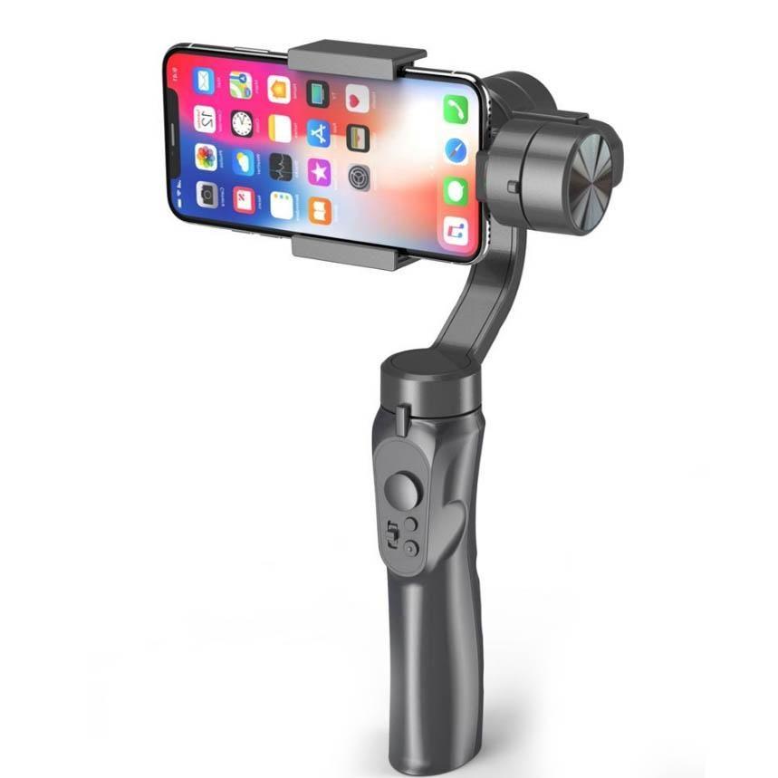 H4 трехосного Handheld Gimbal стабилизатор для съемки Стабильной Anti-встряска Баланс камера Live Support