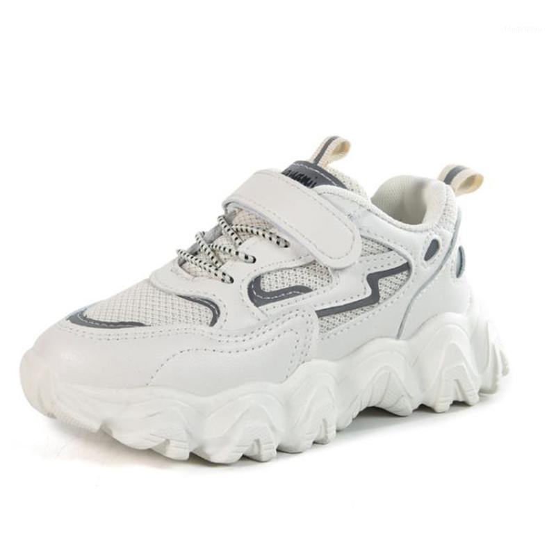 Çocuklar Ayakkabı Toddler Erkek Kız Ayakkabı Sneakers Çocuklar Için Spor Nefes Katı Renk Koşular Çocuk1