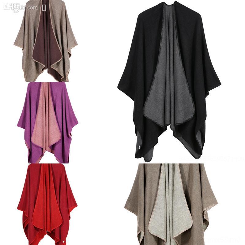 1bGL Top Women Print Schal Female Multi-purpose high quality Shawl Scarf Women Winter Warm Vintage dener Solid color shl and scarf