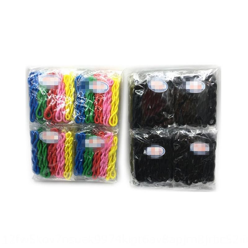 2Xlpw classique laine épaisse ceinture bigoudi bigoudi et bande de cuir cravate boucle de cheveux simples appareils de cheveux moulinet corde tête