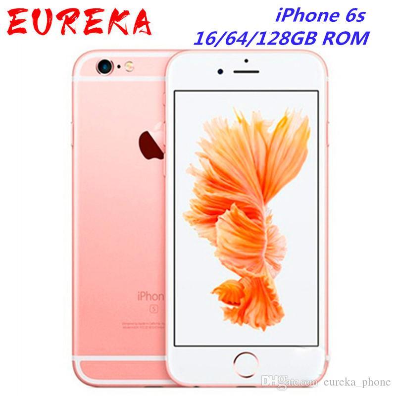 "iPhone abierto original 6S Smartphone 4.7"" IOS 16/64 / 128 GB ROM 2 GB de RAM 12.0mp Dual Core A9 4G LTE"