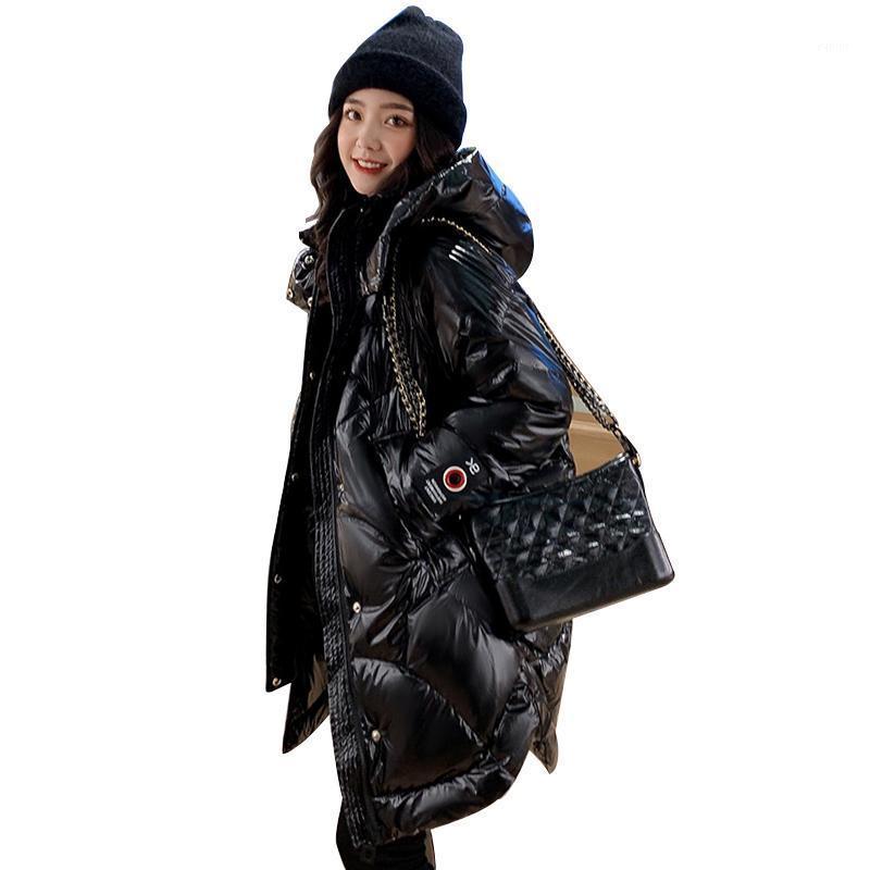 Winterjacke Frauen Mantel Duck Down Parka 2019 Lange Frauen Daunenjacke Mit Kapuze Winter Mantel Frauen Warme Dicke Schnee Outwear1