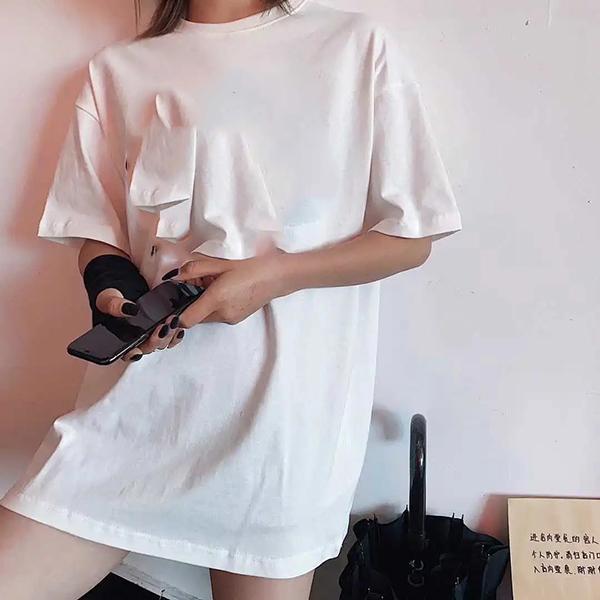 XS-5XL 코튼 여자 티셔츠 여성 남성용 플러스 티 즈 오버 사이즈 반축기 남성 티셔츠 패션 남자 한국어 스타일 그래픽 탑 2021 남자 티셔츠 드롭 우주선