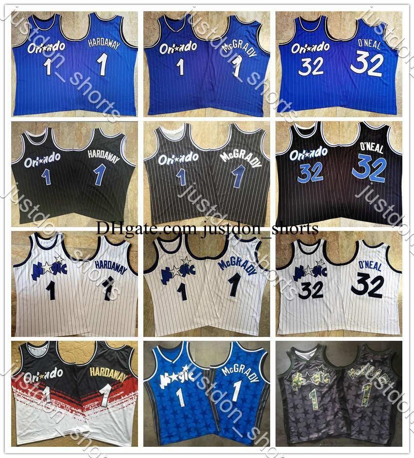 NCAA hombres Vintage Jerseys Iverson LeBron Durant Doncic Hardaway O'Neal Carter Curry Morant McGrady Bordado Mitchell Ness Swingman Shirts