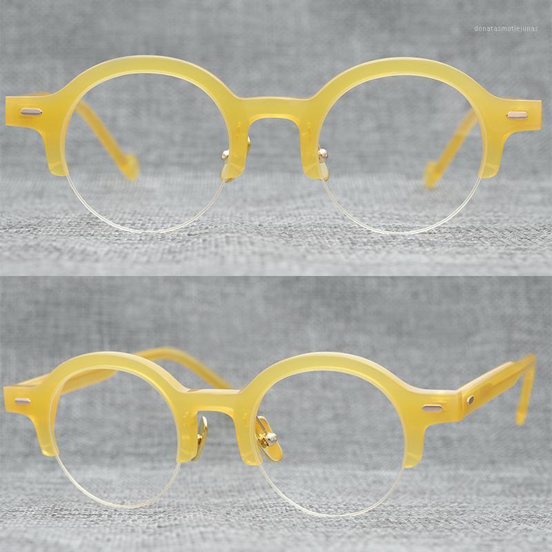 Модные очки для солнцезащитных очков инновационные и наполовину оправа очки кадр ниша Design1