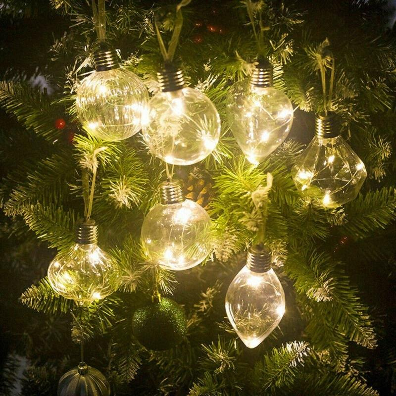 Party LED de lumières de Noël lampe de Noël Weddings Ampoules Batterie Inclus NOUVEAU 0XkF #