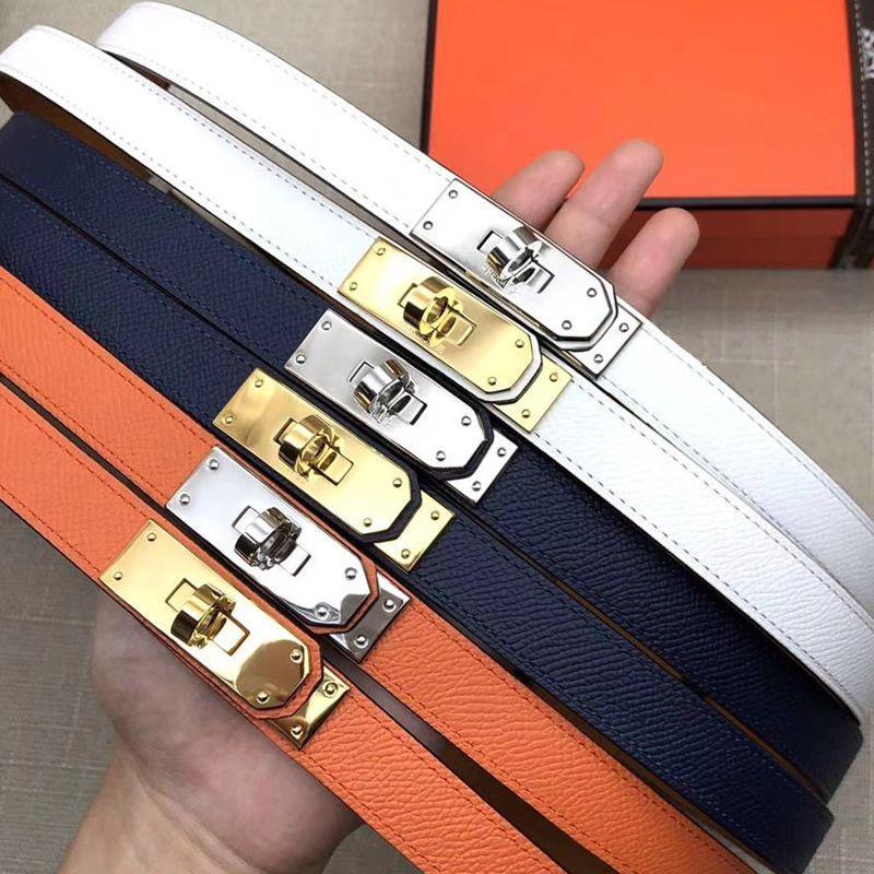 Verastore إمرأة أحزمة مع مربع 18 ملليمتر عرض المرأة تعديل مشبك حزام للنساء أزياء جلدية حزام السيدات حزام