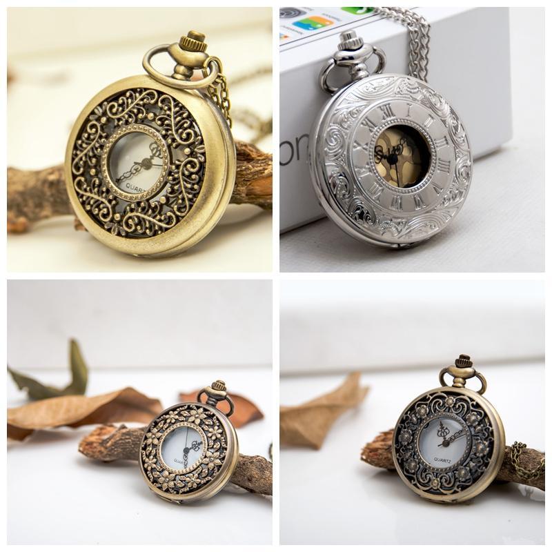 Große hängende Uhr Vogel von Paradise Vintage Quarz 47mm Taschenuhr Halskette Koreanische Version Pullover Kette Mode Mode Tisch Schmuck