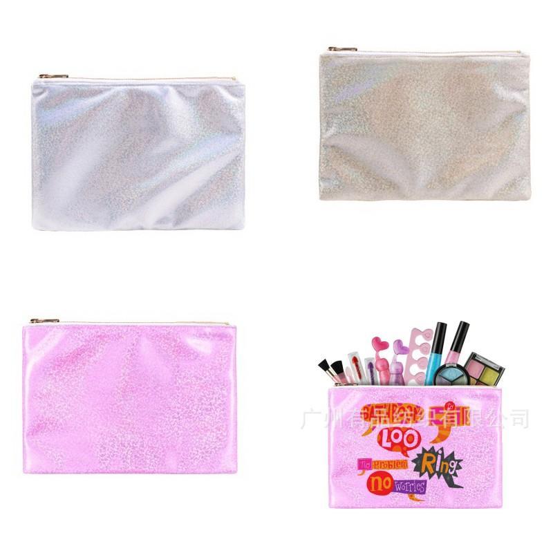 Bolsas portátiles Sublimación en blanco 16 * 23 cm Organizador conveniente DIY Almacenamiento Nuevo Accesorios de Moda Mujer Hombre Contenedores 8 36P K2