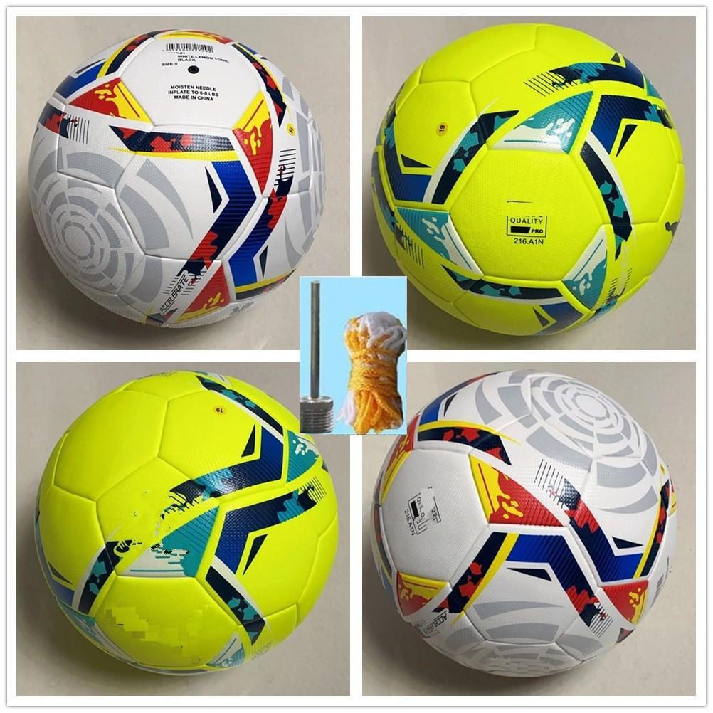 2020 2021 La Liga League high quality 20 21 Soccer ball Final PU size 5 balls granules slip-resistant football Free shipping