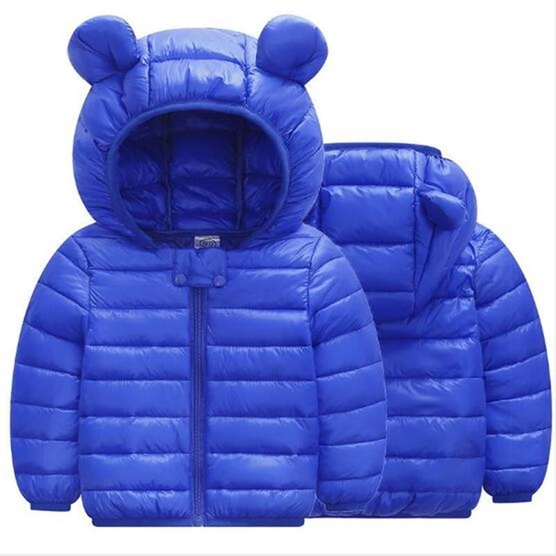 Мода зимние мальчики мальчики девочки пальто дети теплая куртка детская верхняя одежда 201127