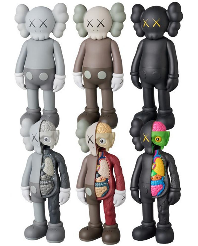 Hot Sell 16inches KAWS Original Fake Dissected Companion Action Figure Doll model Decorations For Kids toys gift Free Shipping
