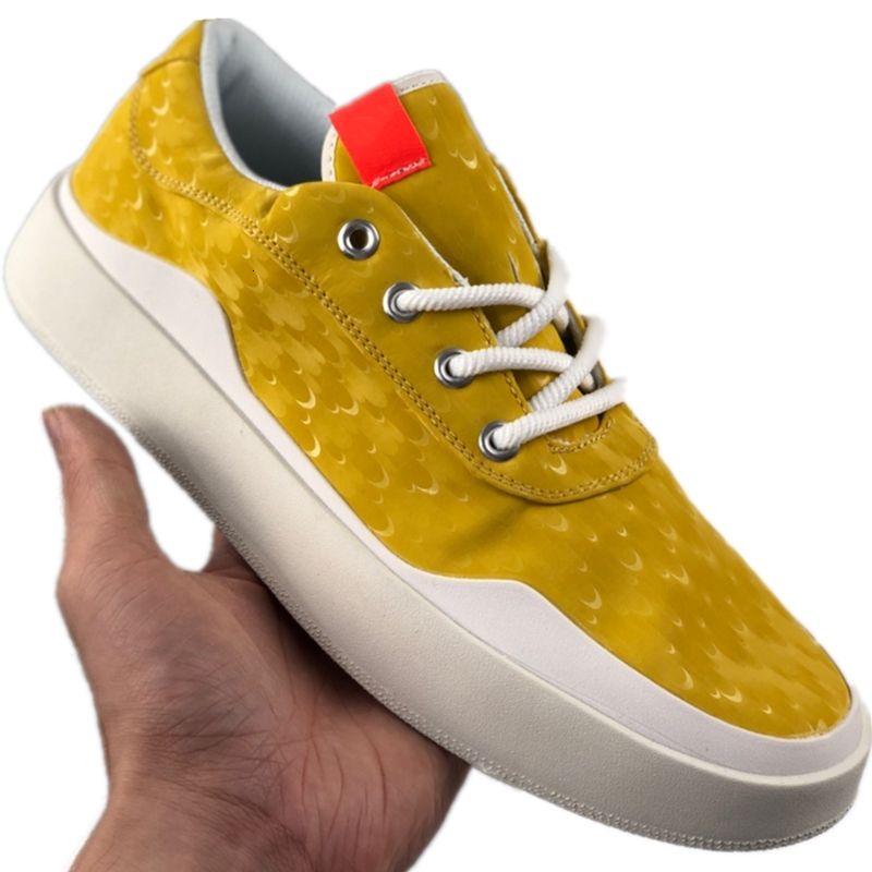İmza 2020 Jumpman Düşük Kesim Kaykay Ayakkabı Orjinal Jumpman Westbrook 0.3 Antiskid Kauçuk Dahili Zoom Air Casual Spor Ayakkabılar