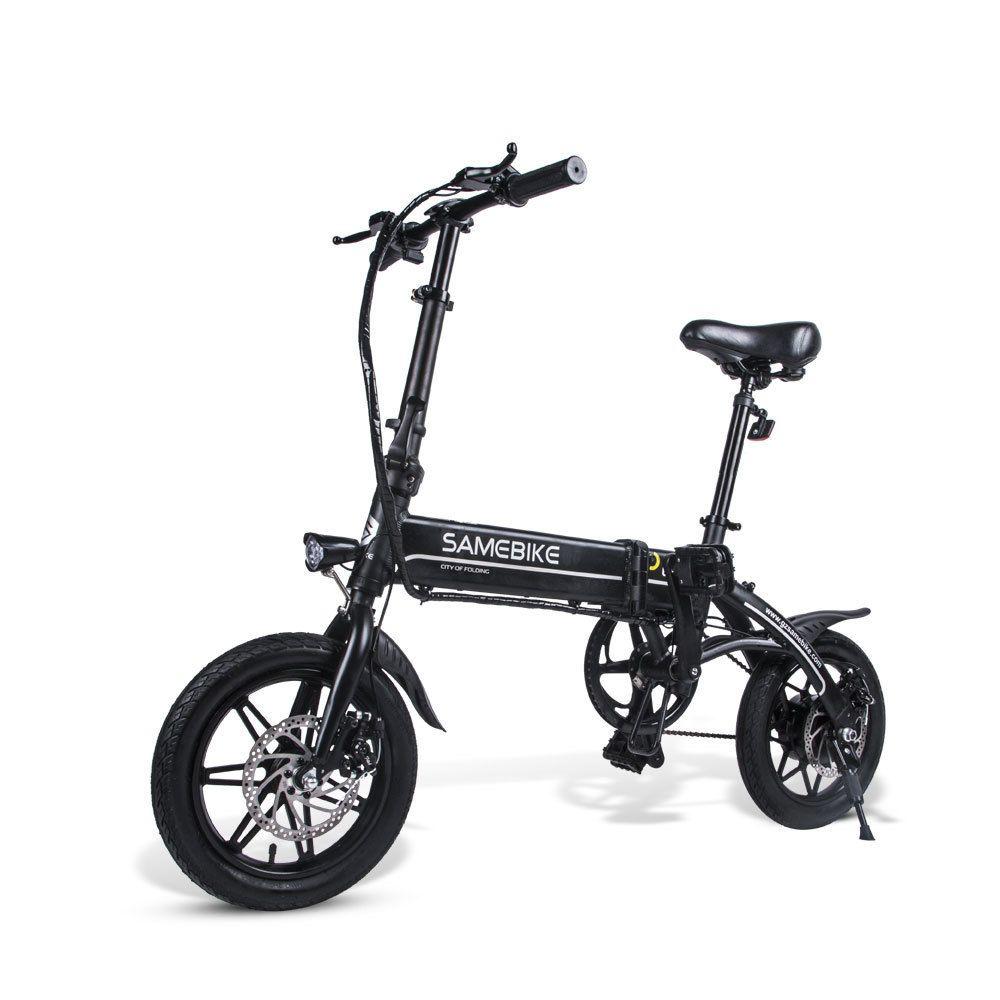 SAMEBIKE 14 Inch Electric ebike YINYU14 Two Wheel Electric Bicycles 36V 250W Portable City Folding Electric Bikes Adults