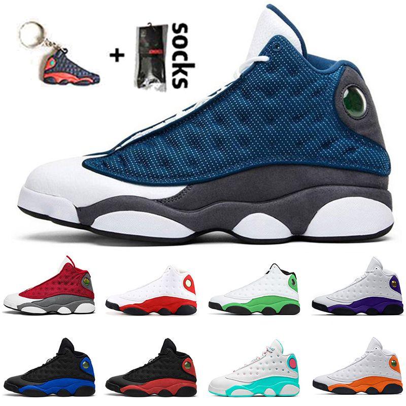 nike air jordan 13 retro 13 2020 Nuovo Jumpman 13 Red Flint Black Hyper Royal Starfish Lucky Green Atmosfera Chicago Bred Basket Scarpe da uomo 13s Sneakers sportive