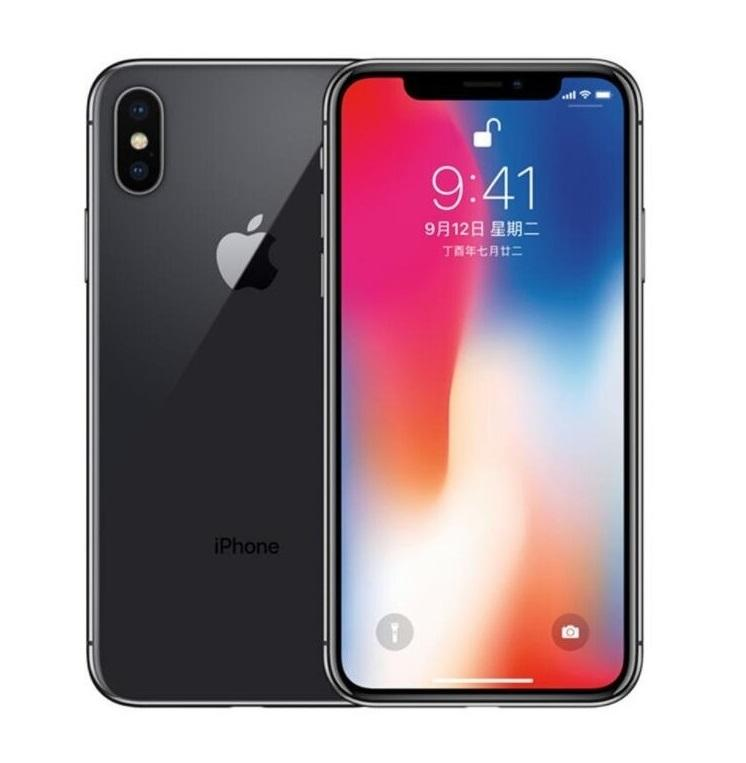 Original iPhone X without face id Hexa Core 64GB iOS 13 5.8 inch 12MP 4G Lte Refurbished Unlocked Phones