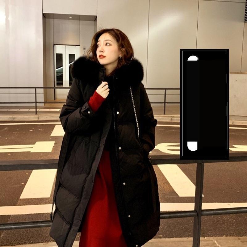 Wcbo branco down casaco 2020 konges novo casaco quente à prova de vento à prova d 'água cereja inverno roupas de esqui