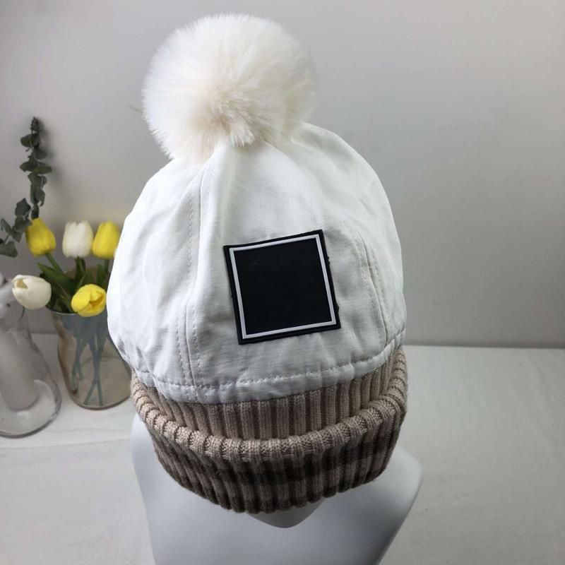 Sokak Beanie Kafatası Kapaklar Sıcak Sonbahar Kış Topu Üst Kış Nefes Kova Şapka Erkek Kadın için 7 Renk Cap En Kaliteli