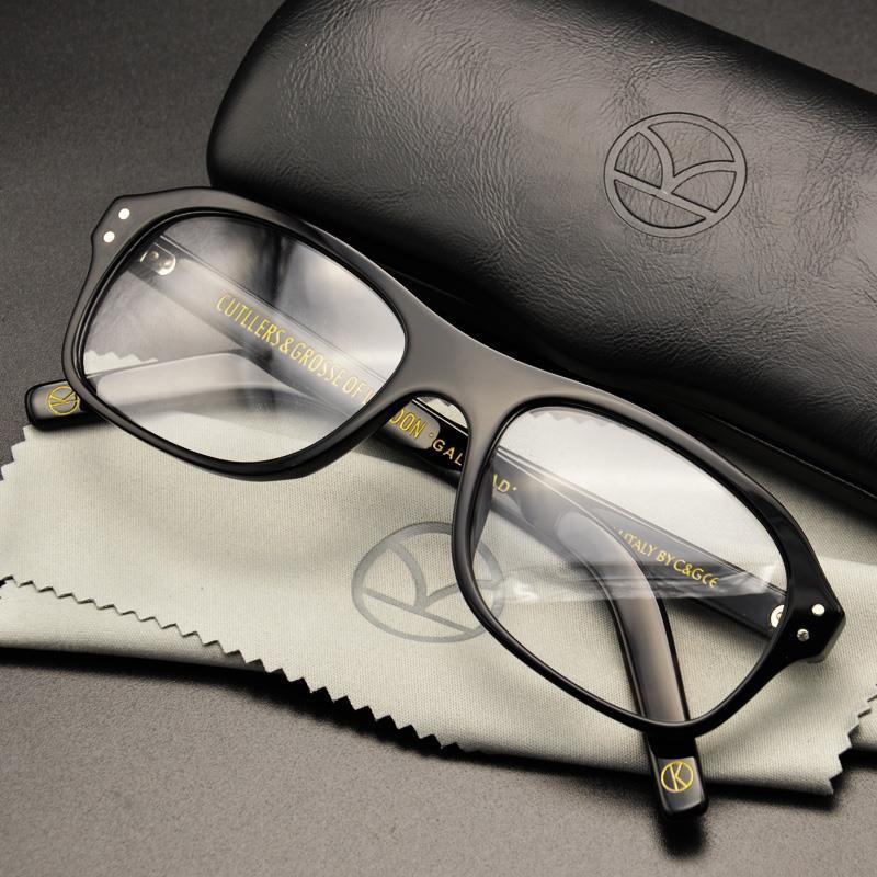Kingsman Eyeglass Golden Eyewear Harry Serviço Kingsman Estilo Secreto Eggsy Eyeglasses Top Frame Circle Óculos Acetato Britânica Infqv