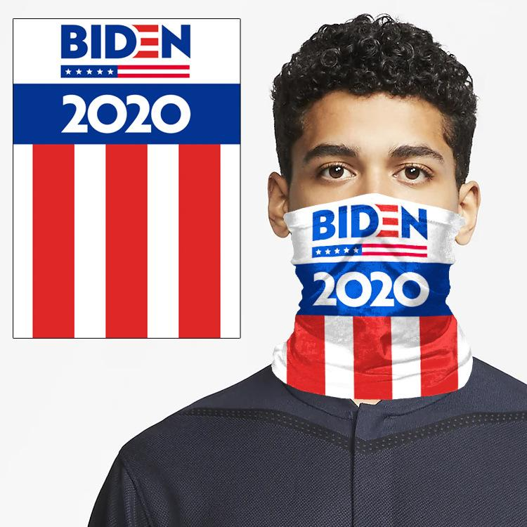 AHL Kargo Trump Boyun tozluk Magic Eşarp Joe Biden Cumhurbaşkanı Seçimi bandanas Doğa Sporları Bisiklet Balık Yüz AHE1093 Maske