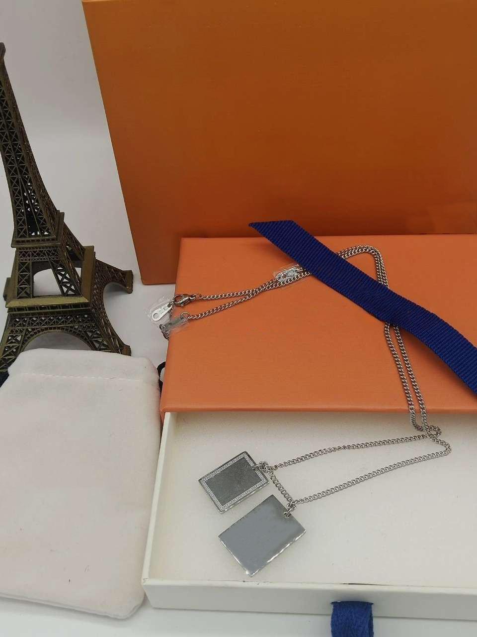 Diseñador de collar collares de la manera colgante de la mujer del hombre collares joyas de diseño alta calidad pendiente
